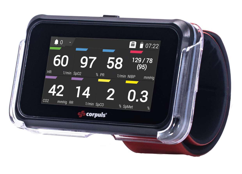 corpuls control neuer screen