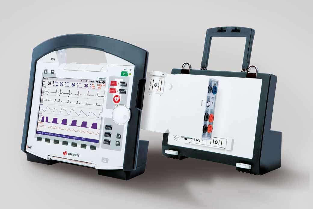 corpuls1 Patientenmonitoringsystem   Riedel + Schulz Medizintechnik GmbH