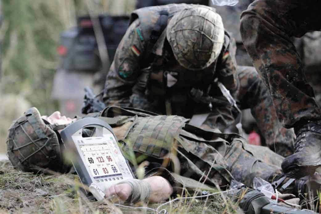 corpuls3 Einsatzgebiete Militär